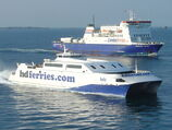 Condor Ferries and HD Ferries at St. Peter Port Guernsey