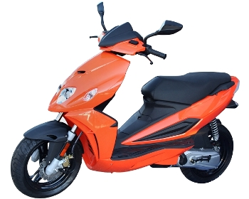File:Orange moped.jpg