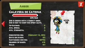 Zombie Calavera de Catrina