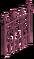 Pink Iron Fence