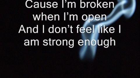 Seether - Broken - WITH LYRICS!