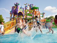 Water park at sesame place