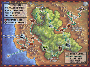 Map - Logical Journey of the Zoombinis