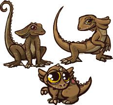 File:Frilled-Neck Lizard.png
