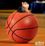 Lemming on Basketball