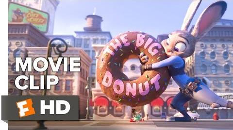 Zootopia Movie CLIP - Have a Donut (2016) - Ginnifer Goodwin, J.K