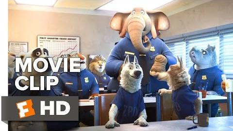 Zootopia Movie CLIP - Elephant in the Room (2016) - Disney Animated Movie HD