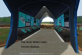 Blue whale hall