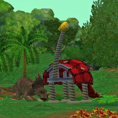 Female <i>Styracosaurus</i> w. Dino Prey Dummy (Dino Danger Pack)