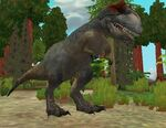 Allosaurus in ZT2