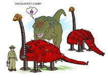 ZT2 EA - Dino Prey Dummy