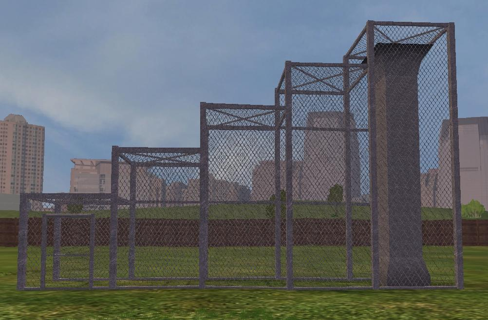 Silver Chain Link Fence The Crg Problem Zt2 Download