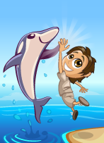 Dolphin Days Victory-icon