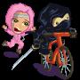 Ninja Assassin Bike Feed-icon