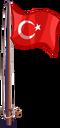 Flag turkey-icon