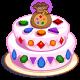 Fruit gemcake
