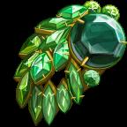 GaudyJewelry EmeraldBrooch-icon