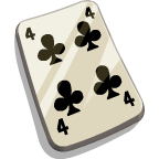 File:LuckyLoot Four of Clubs-icon.png
