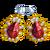 GaudyJewelry RubyEarrings-icon