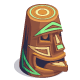 Painted Silly Tiki-icon