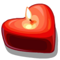 Candles Heart Candle-icon