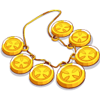 GoldCoinJewelry Necklace-icon