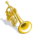 MonkeyBand Trumpet-icon