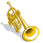 MonkeyBand Trumpet-icon