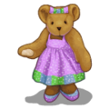 Love Bears Girl Bear-icon