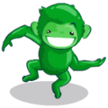 Barrel Green Monkey-icon