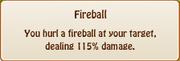 2. fireball